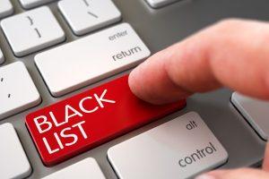 zwarte lijst verzekering